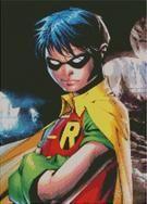 Cross Stitch Chart of Robin Boy Wonder