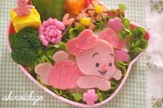 I love Piglet. wanna eat now !