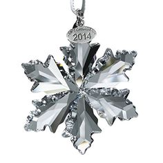 Swarovski Annual Edition 2014 Crystal Snowflake Ornament ** Be sure to check out this awesome product.