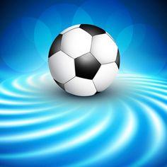 Fondo de fútbol Vector Gratis Soccer Theme, Soccer Party, Sports Party, Soccer Ball, Soccer Birthday Cakes, Soccer Poster, Football Design, Football Pictures, Great Team