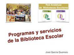 Programas y servicios becrea