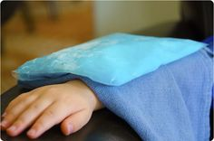 DIY Ice Pack using only dish soap and rubbing alcohol!