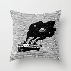 Starship Throw Pillow on Society6