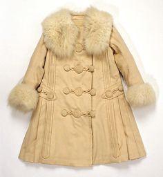 Coat  Date: 1909–11 Culture: French (probably) Medium: wool, silk, fur