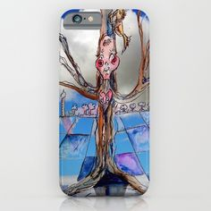 Jester B's Tree iPhone Case by crismanart B Tree, Ipod, Iphone Cases, Cartoon, Iphone Case, Cartoons, I Phone Cases, Comic, Ipods