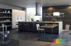 Kitchen:New Modern Kitchen Layout Styles And Interior Designs Colors Backsplash Countertops Island Remodels Small House Space Ikea Dark Wood...