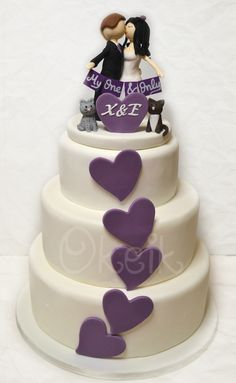 Wedding Cake Spring Lavender