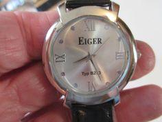 MEN'S EIGER QUARTZ DRESS ANALOG WATCH TYPE B2773,SS BACK,P688,CHINA #EIGER #Dress