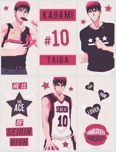 Kagami Taiga, Angel Princess, Kuroko No Basket, Manga Comics, Attack On Titan, Anime Guys, Sexy, Angels, Animation