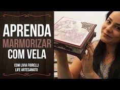 DIY   Faça Você Mesmo   Baú Envelhecido   Livia Fiorelli   Life Artesanato - YouTube                                                                                                                                                                                 Mais