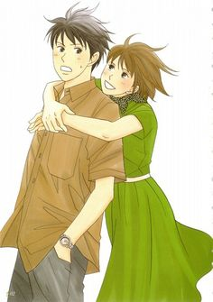 Nice anime artbook from Nodame Cantabile uploaded by SaTaNeL - Hug Love Pictures, Pictures Images, Super Manga, Manga Anime, Anime Art, Cosplay Tumblr, Cute Anime Couples, Anime Shows, Shoujo