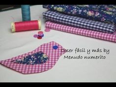 Coser fácil y más Menudo Numerito - YouTube Sewing Tutorials, Sewing Projects, Kids Hands, Learn To Sew, Sewing For Kids, Handicraft, Embroidery Patterns, Hand Sewing, Couture