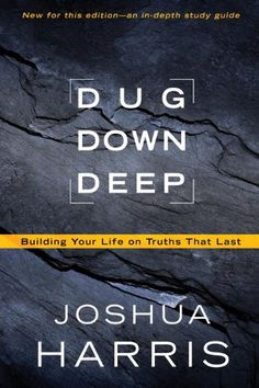 Dug Down Deep: Building Your Life on Truths That Last by Joshua Harris http://www.amazon.com/dp/1601423713/ref=cm_sw_r_pi_dp_hYm6tb1A87HHH