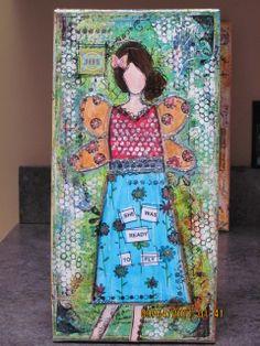 She Art Girl  2 by Nicole 5310, via Flickr