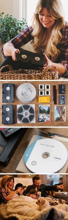 Have old home movies? Southtree converts them to DVD or thumb drive. Simply collect and mail them to us to digitize. In a few weeks we'll return the originals with new digital copies so you can enjoy with friends and family. Shop our sale to save 60% with $5 tape-to dvd transfers through 03/31/16.