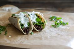 Lentil and Swiss Chard Tacos (with Homemade Corn Tortillas)