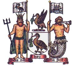 Liverpool City Council coat of arms Liverpool Badge, Liverpool History, Liverpool Home, Liverpool England, Alchemy Symbols, Kinds Of Birds, City Council, Crests, The Good Old Days