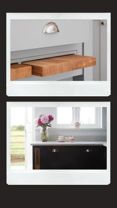 Pullout Storage  Utilise every centimetre of space in your small kitchen with pullout storage and accessories. You can fit chopping boards and pullout, slimline storage between cabinets. And for tricky spaces, you can use special pullout shelving that goes around corners, maximising space and providing easy access to kitchen essentials.   #kitchenstorage #kitchenstoragehacks #storagehacks #kitchendesign #shakerkitchen Kitchen Cupboard Storage, Above Kitchen Cabinets, Kitchen Storage Hacks, Kitchen Worktop, Kitchen Cabinet Doors, Storage Spaces, Storage Ideas, Kitchen Centerpiece, Hanging Storage