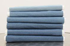 le 6 tipologie di colore del nostro tessuto DENIM