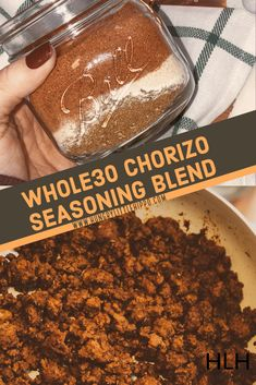 Compliant chorizo is one of THE hardest foods to find on Whole This seasoning blend solves all those problems. Mix cup of this mix with 1 LB of ground meat; and you have chorizo! Chorizo Recipes, Seasoning Mixes, Gourmet Recipes, Mexican Food Recipes, Mexican Meals, Mexican Dishes, Meat Recipes, Seafood Recipes, Dulce De Leche