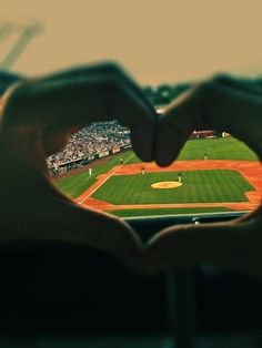 We found love on the playing field. #SPARKLEbridalcouture #Baseballwedding #Love