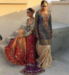 Best Pakistani Bridal Lehenga Collections 2017 For You Asian Wedding Dress, Pakistani Wedding Outfits, Pakistani Wedding Dresses, Bridal Outfits, Indian Dresses, Indian Outfits, Pakistani Bridal Lehenga, Lehenga Choli, Anarkali