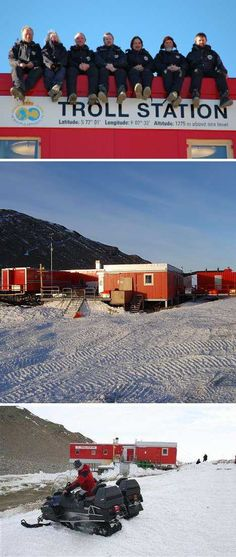 Home Ice: 12 International Antarctic Research Stations