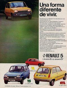 Renault 5. Año 1977