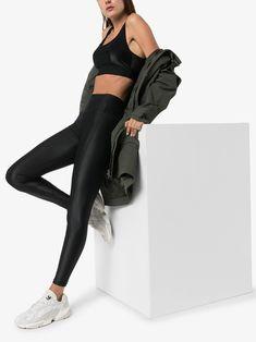 Sweaty Betty high shine 7/8 workout leggings | Browns