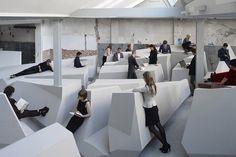 Hollanda Çıkışlı Fütüristik Ofis Tasarımı