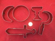 Check out our pagan cookie cutters selection for the very best in unique or custom, handmade pieces from our shops. Solstice And Equinox, Winter Solstice, Sabbats, Yule, Full Moon, Pagan, Safe Food, Cookie Cutters, Cookies
