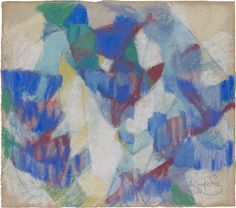 Collection Online | František Kupka. Untitled Study. 1912–13 - Guggenheim Museum