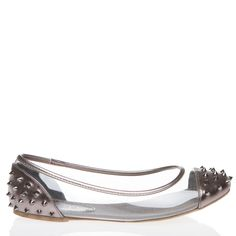 Louvette Flat in Pewter. Too Cute!