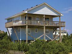 Casa Mare, 4 bedroom Ocean Front home in Salvo, OBX, NC