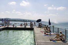 Seebad Enge in Zürich.