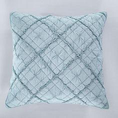 Diamond Applique Pillow Sham