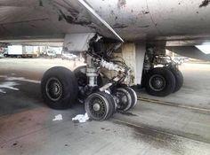 United Boeing 747-400, no injuries.