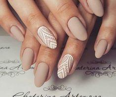 Acrylic Nail Shapes, Acrylic Nail Designs, Acrylic Nails, Bridal Nails Designs, Wedding Nails Design, Nude Nails, Matte Nails, Gel Nails, Indian Nails