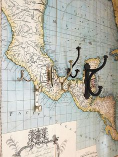 map wallpaper  Good Bones, Great Pieces