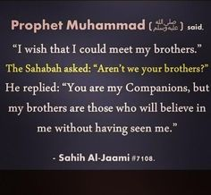 Allahumma salli wa salim al'a nabiyanna  Muhammad. May Allah unite us with the prophet (saw) in Jannah. Ameen.