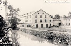 Robson Leather Tannery, from the Oshawa Community Archives Ontario, Canada, Community, Park, Street, City, Places, Leather, Durham