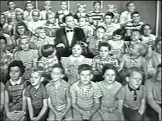 """""""He's Got High Hopes"""" Frank Sinatra singing with a bunch of school children, 1959...so fun to see and hear."""