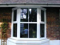 constructing bay windows anderson 45 vinyl new. Black Bedroom Furniture Sets. Home Design Ideas