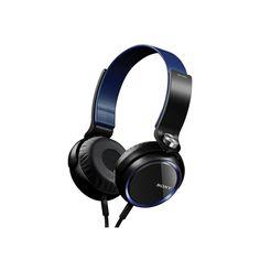 Sony Fashion Extra Bass Headphones, Blue