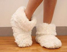 """The real question is, when are fuzzy slippers NOT appropriate?"" - Melissa B, Community Manager : ""The real question is, when are fuzzy slippers NOT appropriate?"" - Melissa B, Community Manager Sock Shoes, Cute Shoes, Fuzzy Slippers, Bedroom Slippers, She's A Lady, Relaxed Outfit, Christmas Gifts For Her, Red Bottoms, Lingerie"