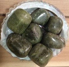 Vesuvianite Healing Stone Healing by SoulswithHeart on Etsy