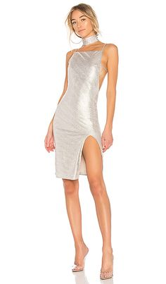 d92cc9ce39c72 Shop for h:ours x REVOLVE Murphy Dress in Soft Gold at REVOLVE. Free