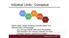 "#Stanford Webinar - Why #DesignThinking Is A Method, Not Magic! - #Design thinking gets a lot of buzz for being a ""one size fits all"" #strategic process to drive #innovation. In this #webinar #BillBurnett, consulting assistant professor and master in design thinking at #StanfordUniversity, as he shares three barriers organizations face when adopting an #innovative #culture and how to overcome them. socinn #socent #whydesign"