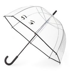 style: Winking Eyes when was the last time you actually wished for rain? you'll be hoping for afternoon showers just so this witty umbrella can get some exposure (and, undoubtedly, some commentary). a