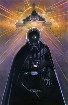 Star Wars - Darth Vader by Travis Charest Luke Skywalker, Chewbacca, Darth Vader, Star Wars Art, Star Trek, Dark Horse Comics, Travis Charest, Amidala Star Wars, Star Wars Wallpaper